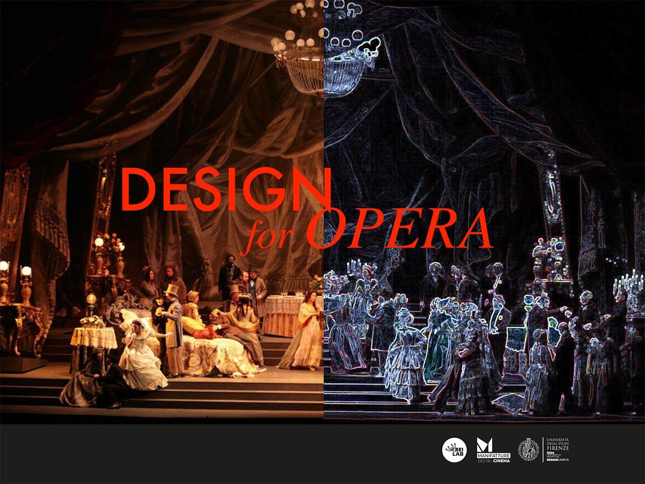 Design for Opera Locandina